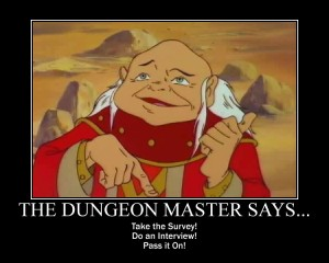 Dungeon Master Wants You!